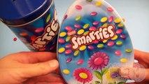 Un et un à un un à et couleurs des œufs Apprendre Nouveau partie arc en ciel avec Smarties surprise 6