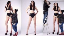 Self-Proclaimed 'Tallest Model in the World' Has Lofty Goals