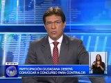 Consejo de Participación Ciudadana deberá convocar a concurso para la designación del nuevo Contralor General del Estado