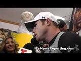 canelo alvarez on fighting floyd mayweather boxeo - EsNews Boxing