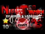 K 8) 'Night Terrors' 100% COMPLETE By Hinds & Loogiah [DEMON] | Geometry Dash [2.0]