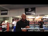 mayweather vs canelo garcia vs matthysse undercard fighters talk EsNews Boxing