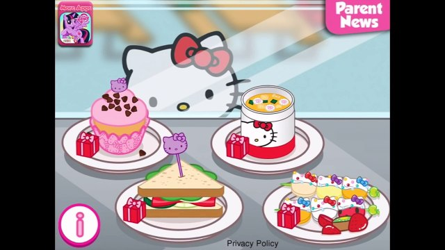 Hello Kitty Lunchbox Eat your lunch w/ Hello Kitty - Decorate Lunchbox for Girls - Fun Coo