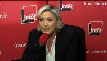 """Marine Le Pen : """"Le FN doit se dépasser lui-même"""""""
