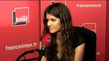 """Marlène Schiappa reprend le """"Merci"""" que les femmes adressent à Simone Veil."""