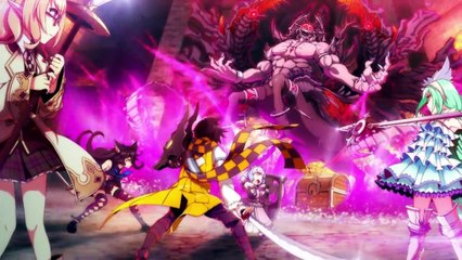 Demon Gaze II - Opening Movie Trailer (PS4, PS Vita)