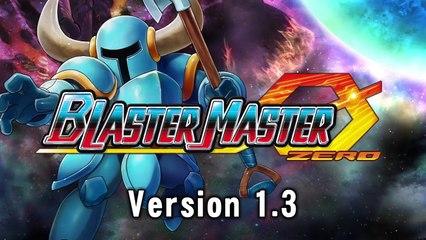Blaster Master Zero Version 1.3 Update - Official Trailer