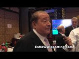 Bob Arum on fighters getting knocked out cold fighting again - EsNews Boxing