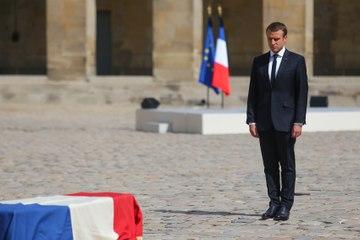 Hommage national à Simone Veil - discours d'Emmanuel Macron aux Invalides