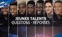 Jeunes Talents : Questions - Réponses