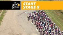 Départ / Start - Étape 5 / Stage 5 - Tour de France 2017