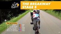 8 coureurs dans l'échappée / 8 riders in the breakaway - Étape 5 / Stage 5 - Tour de France 2017