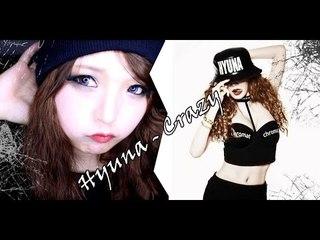 Hyuna Crazy Look