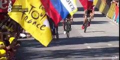 Sagan- Cavendish, il gomito si allarga ma dopo il contatto: il video della Bora che lo scagiona