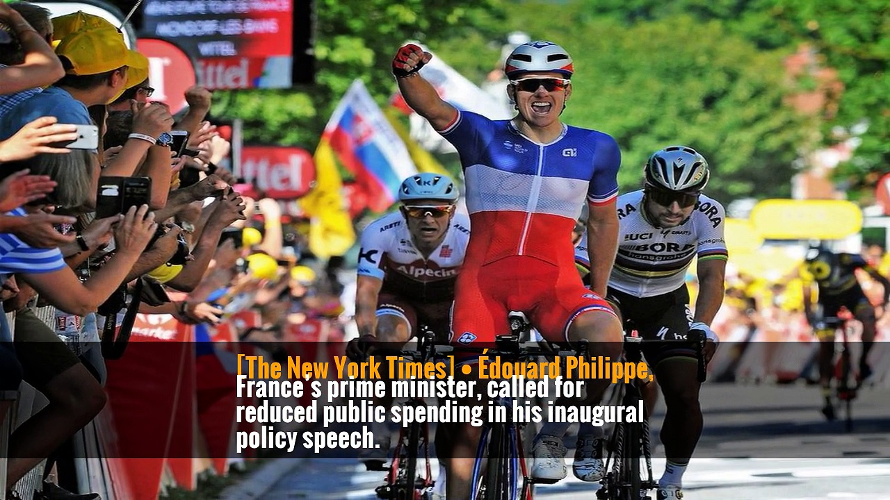 G-20, Wimbledon, Tour de France: Your Wednesday Briefing