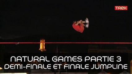 [Natural Games 2017] Revivez le live! - Partie 3: Live Demi-finale et Finale de Jumpline - Trek TV