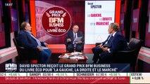 David Spector reçoit le Grand Prix BFM Business du livre éco 2017 - 05/07