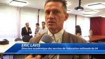 """Alpes de Haute-Provence : l'académie signe une convention pour l'accès au livres audios pour les élèves porteurs de troubles """"dys"""""""