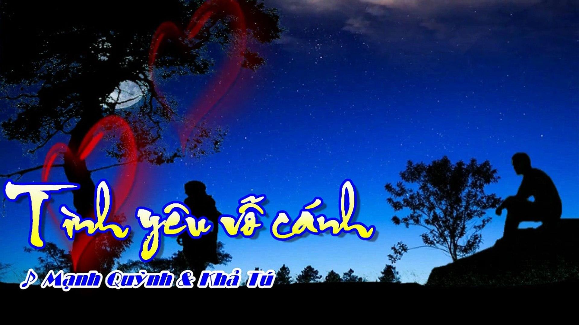 [Karaoke] TÌNH YÊU VỖ CÁNH - Mạnh Quỳnh & Khả Tú (Song ca: Gm)