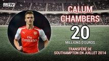 Mercato : Avant Lacazette, les 5 transferts les plus chers d'Arsenal
