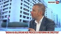 Report TV - I ftuar në studio deputeti i PS-së Ervin Bushati