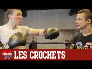 LES CROCHETS EN BOXE ANGLAISE - CROCHETS AVANT & ARRIERE AU VISAGE (COURS N°2)