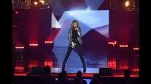 Céline Dion livre une torride chorégraphie sur la scène de l'AccorHotels Arena (Vidéo)