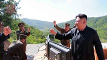 US FIRES 'massive' barrage of ballistic missiles in warning to North Korea - DAI