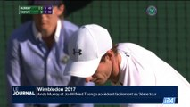 Wimbledon: Andy Murray accède facilement au 3ème tour