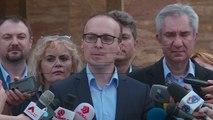 Џафери на една страна во парламентот, ВМРО-ДПМНЕ на друга