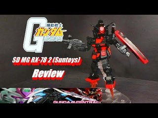 SD MG RX-78 2 (Black Ver.) Review
