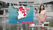 Scorching summer heat, on and off monsoon rain down south