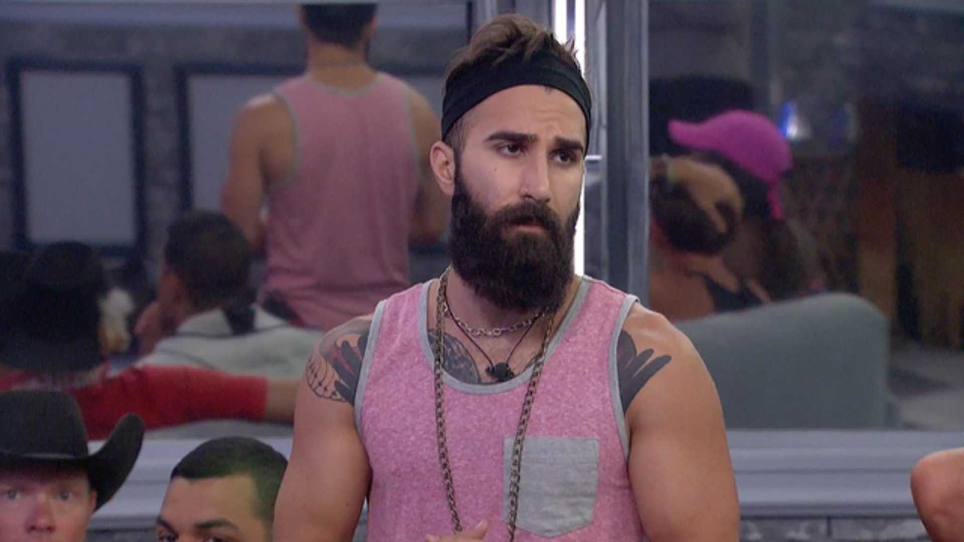 Big Brother - Jaws Drop When Paul Reveals His Pendant Of Protection On Big Brother