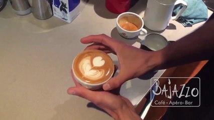 Kaffeekunst bei Bajazzo Muttenz #1