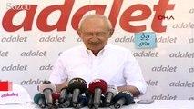 Adalet Yürüyüşü nün 21. gününde Kılıçdaroğlu açıklama yaptı