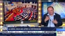 Mathieu Jolivet VS Jean-Marc Daniel: La Grèce, deux ans après le référendum - 06/07