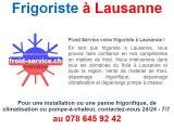 Dépanneur frigoriste à Lausanne
