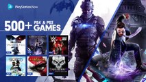 PS4 Games Come to PlayStation Now