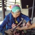 This 100-year-old woman is the last living hand-tap tattoo artist [Mic Archives]