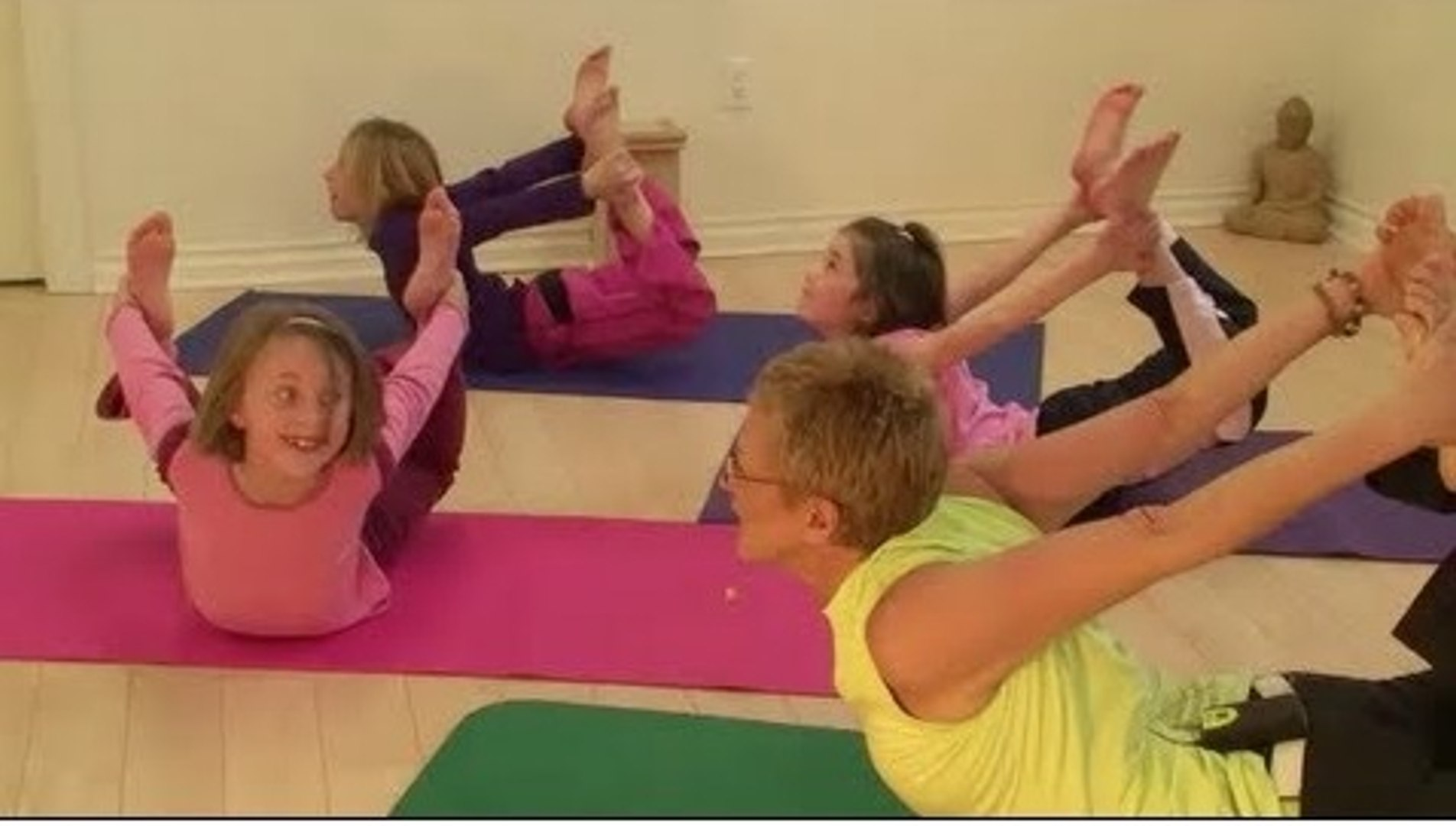 Yoga with Cute girl and boy  Very Impressive girl with yoga beautiful boy with girl