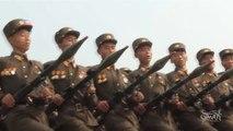 Défilé militaire Nord Coréen... sur la musique de la Nintendo WII !!