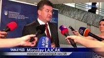 ZÁZNAM: Brifing ministra zahraničných vecí SR Miroslava Lajčáka