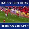 Happy Birthday Hernan Crespo