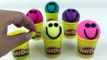 Balle tasses visage pour amusement amusement enfants jouer pétillant avec Doh surprise smiley squinkies 2017