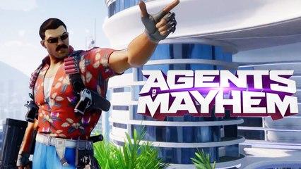 Agents of Mayhem Magnum Sized Action Trailer
