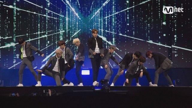 KCON 2017 NY×M COUNTDOWN  SF9 _ INTRO + 쉽다 (Easy Love)