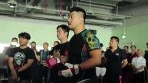 Combat entre le combattant MMA Xu Xiaodong et le maître tai-chi Ma Baoguo interrompu par la police, entrainant l'arrestation de Xu