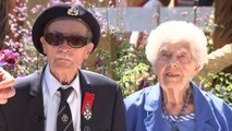Blind WWII veteran receives new medals after heartbreaking plea for lost ones