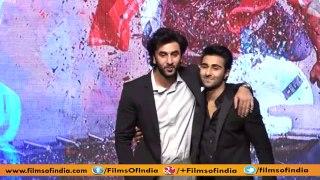 Ranbir and Anushka launch YRF's fresh talents Aadar Jain and Anya Singh.