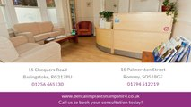 With implants, Dental Implants Hampshire can restore your smile
